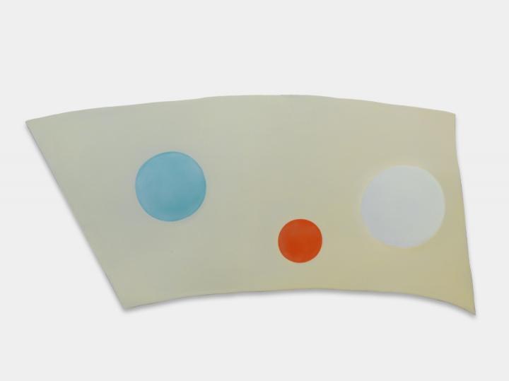 《房间No.17》33×77cm 油画颜料铝板 2021   图片提供:艺术家与贝浩登