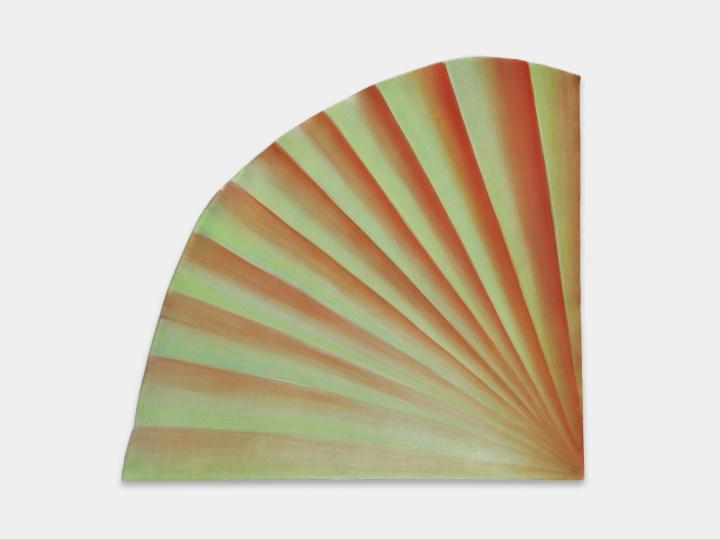 《房间No.18》 39×42cm油画颜料铝板2021  图片提供:艺术家与贝浩登