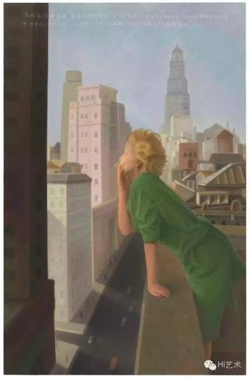 《1955·纽约·29岁》200x130cm布面油画2016