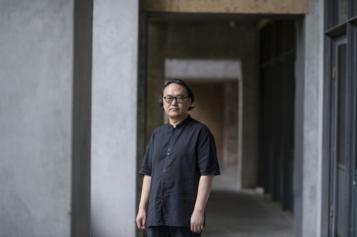 中国美术学院院长 高世名(摄影:董林)