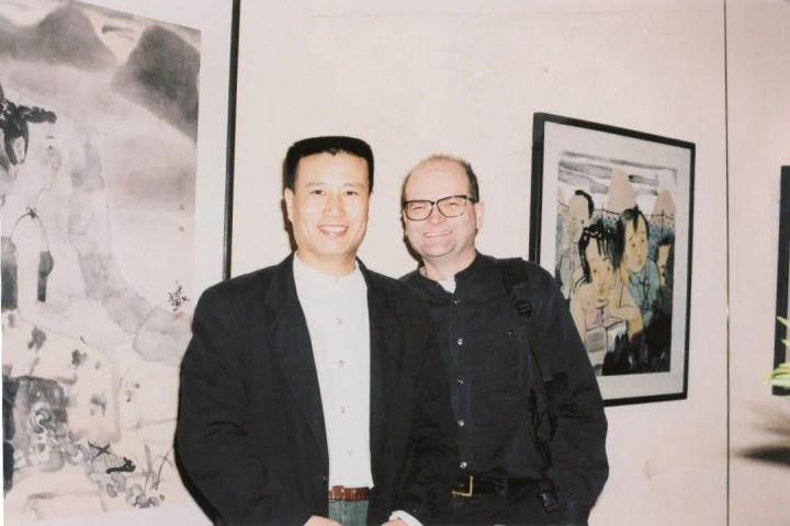 青年时期的刘庆和与布朗