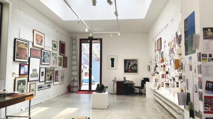 如今位于798艺术区的红门画廊