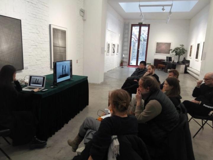 驻地艺术家在红门画廊座谈,2019