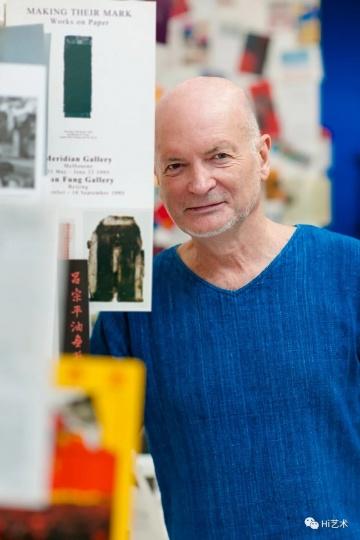 红门画廊创始人布朗(Brian Wallace)摄影:董林