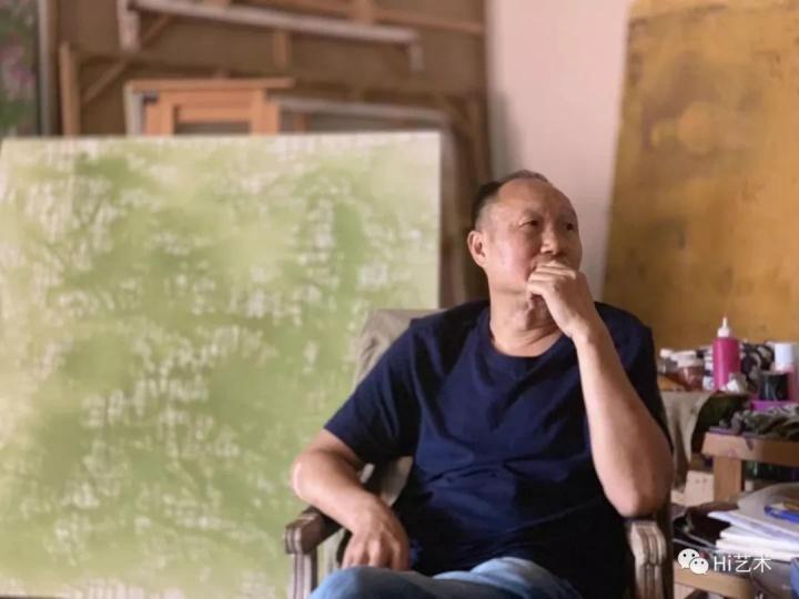 艺术家毛旭辉