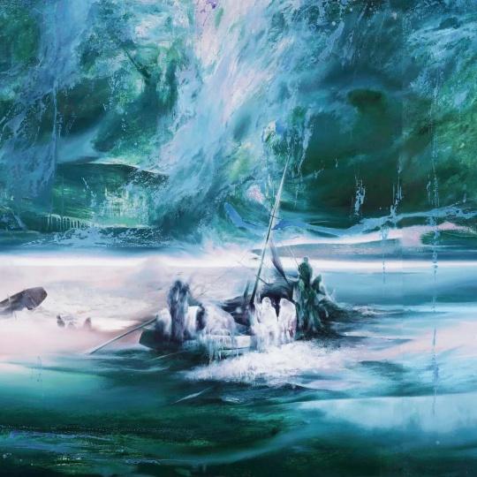 《重生之河 No. 2》 局部