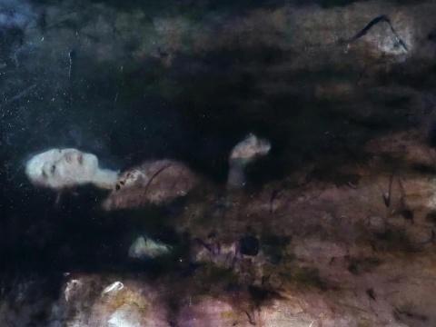 郑恺伽《奥菲利亚》120x90cm 布面油画 2021