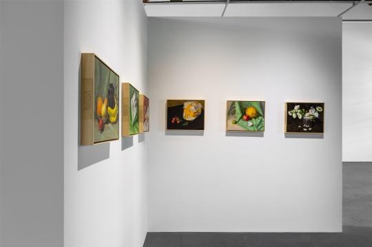 """葛宇路个展""""一幅是画,另一幅也是画"""",北京公社展览现场"""