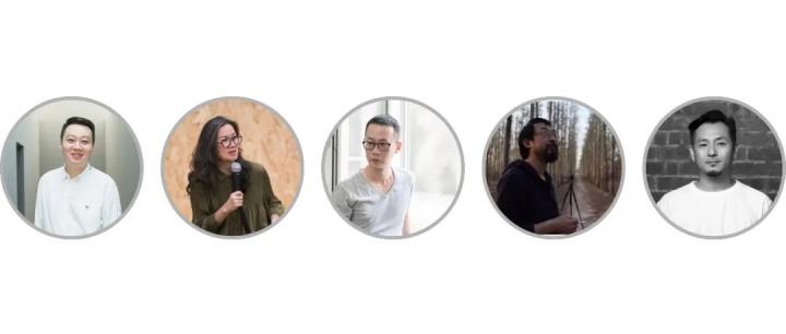 第三届1839摄影奖终评委阵容,从左至右:策展人崔灿灿、评论家、广州美术学院教授樊林、艺术家蒋志、电影作者、摄影师丛峰、艺术家张巍
