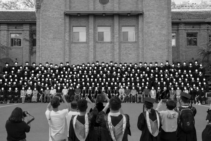 2019年第一届1839摄影奖优秀奖得主 马壮(鲁迅美术学院)《无意识群体作为对象》摄影