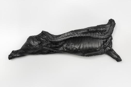 英格夫·霍伦,《FOD》,2021,摄影:Stefan Korte   碳纤维,泡沫芯,螺钉,垫圈,螺母 1010x270x29cm   致谢艺术家,柏林Galerie Neu,伦敦Modern Art及法兰克福Neue Alte Brücke