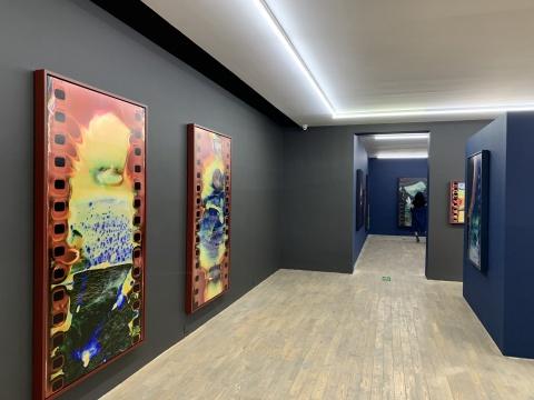 """""""胡为一:身体地理"""",HdM画廊展览现场"""