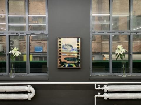 HdM画廊胡为一个展,一位艺术家用他的身体消化的地理
