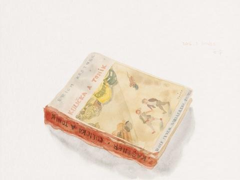 《童话故事》 30x40cm 纸本水彩 2016