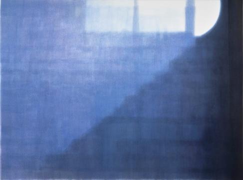 康海涛《梦》 169 × 227.5 cm 纸板丙烯 2021