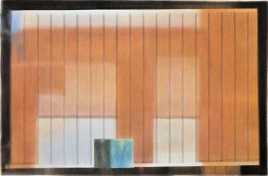 康海涛《自述》 150 × 228 cm纸板丙烯 2021