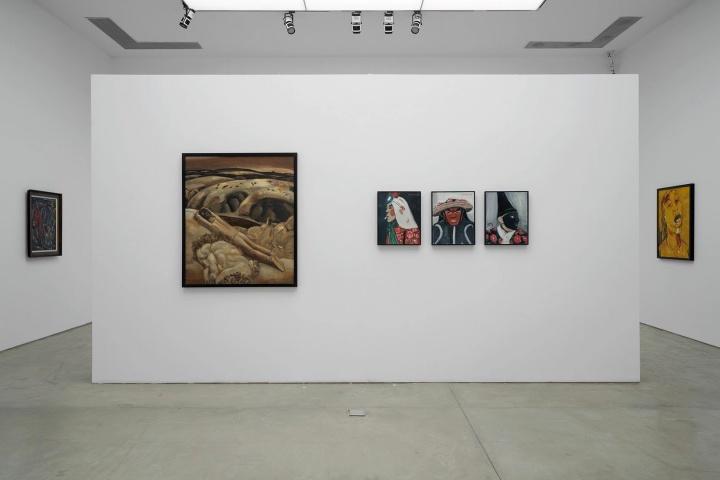 """戴卓群策展 """"花儿依然开放:段正渠个展"""" 三远当代艺术中心 2021"""
