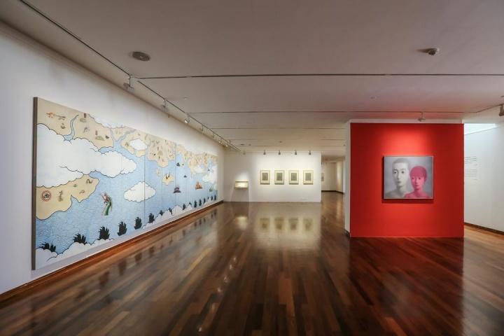"""王晓松策展 """"离散与汇聚——第三届全球华人艺术展"""" 何香凝美术馆 2020-21"""