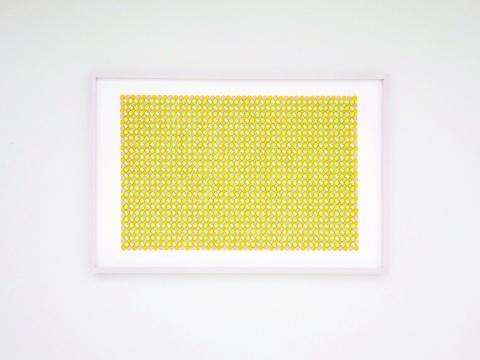 董大为 《水织纹》 80.1×120.4cm 纸上马克笔 2021